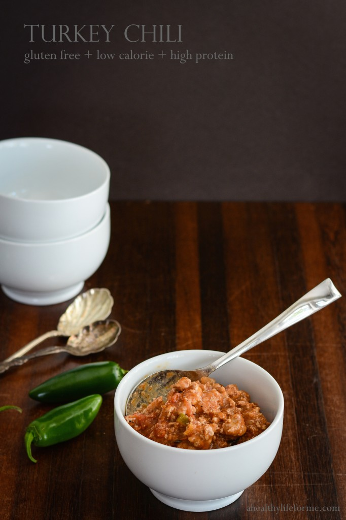 Turkey Chili | A Healthy Life for Me