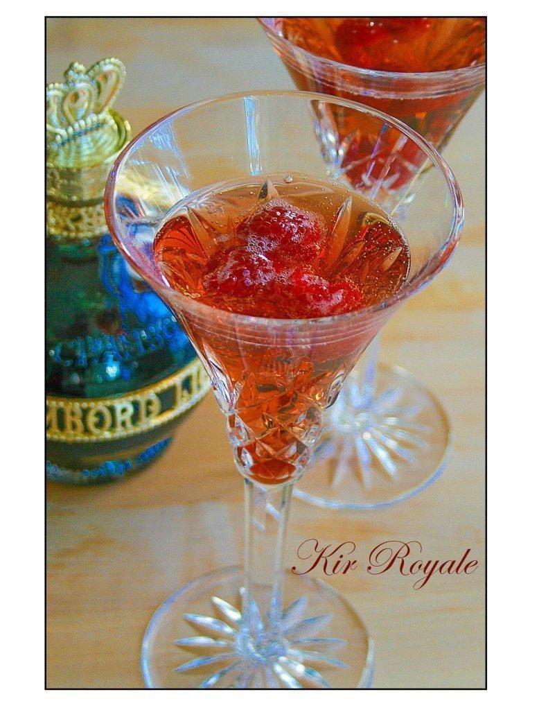kir royale champagne cocktail a healthy life for me. Black Bedroom Furniture Sets. Home Design Ideas