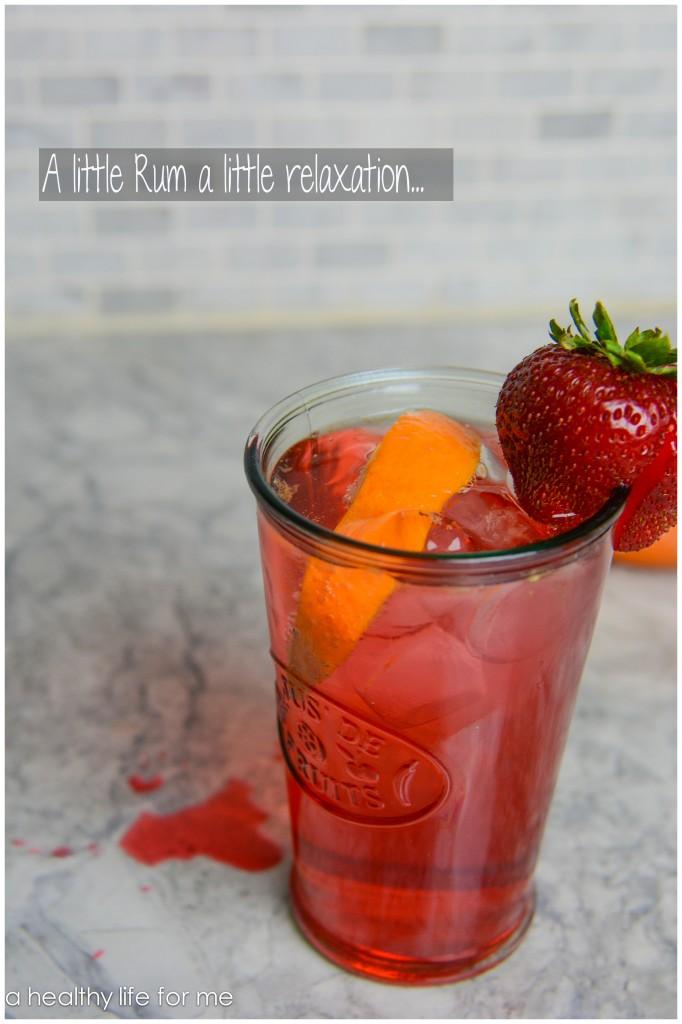Rum Grenadine Lemon-Lime Soda Juice