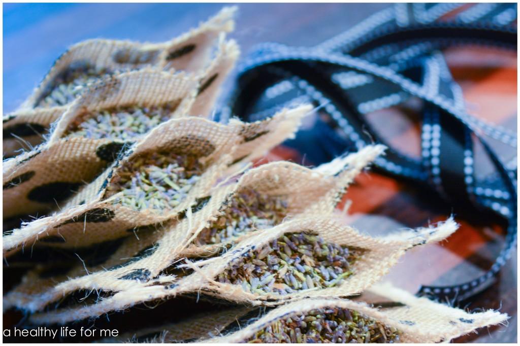 Fill No Sew Lavender Sachets great gift idea