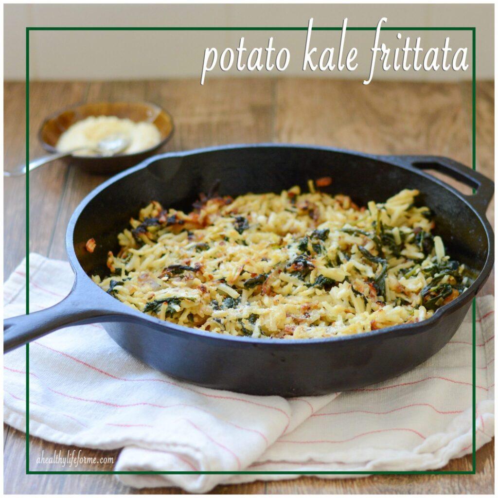 Gluten Free Potato Kale Frittata