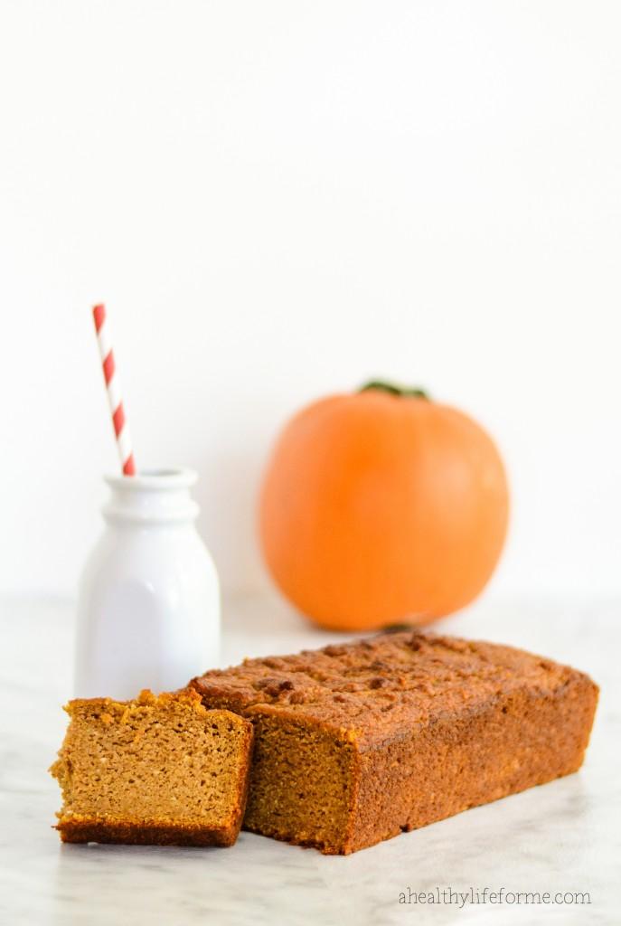 Paleo Pumpkin Bread - A Healthy Life For Me