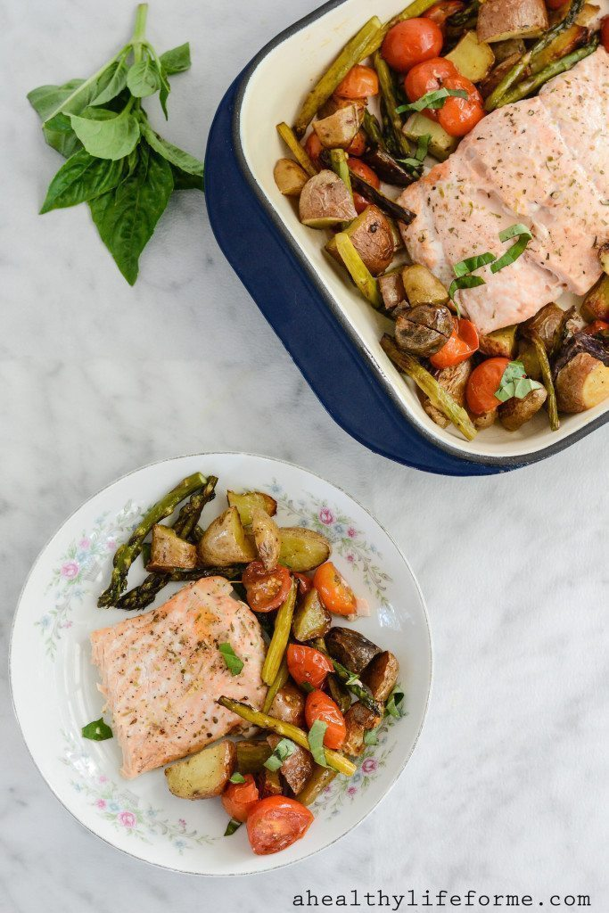 Salt-Baked Wild Salmon With Tomato Aioli And Potatoes Recipes ...