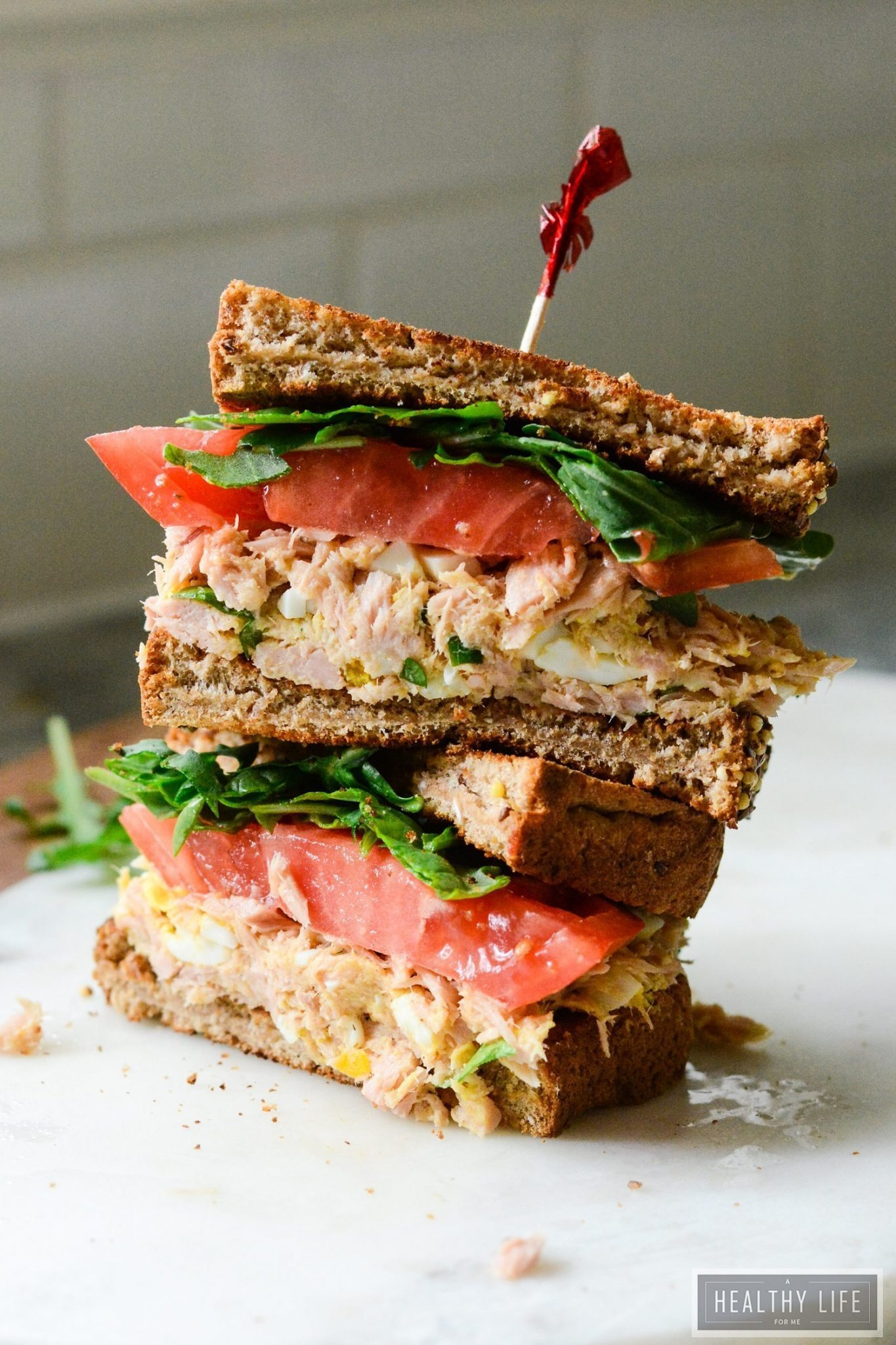 Yellowfin Tuna Salad Sandwich A Healthy Life For Me