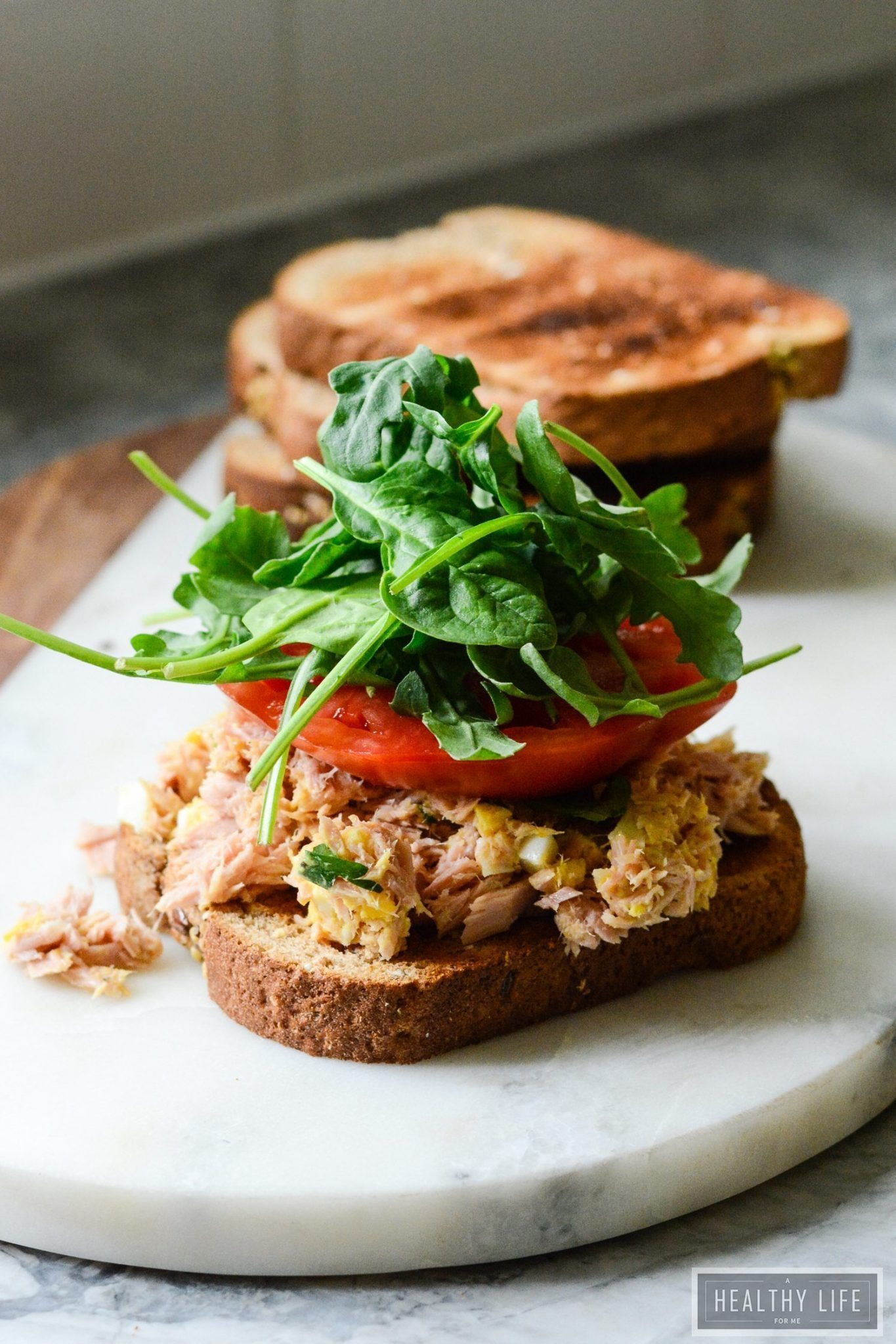 Tuna fish salad sandwich a healthy life for me for Tuna fish salad recipe with egg
