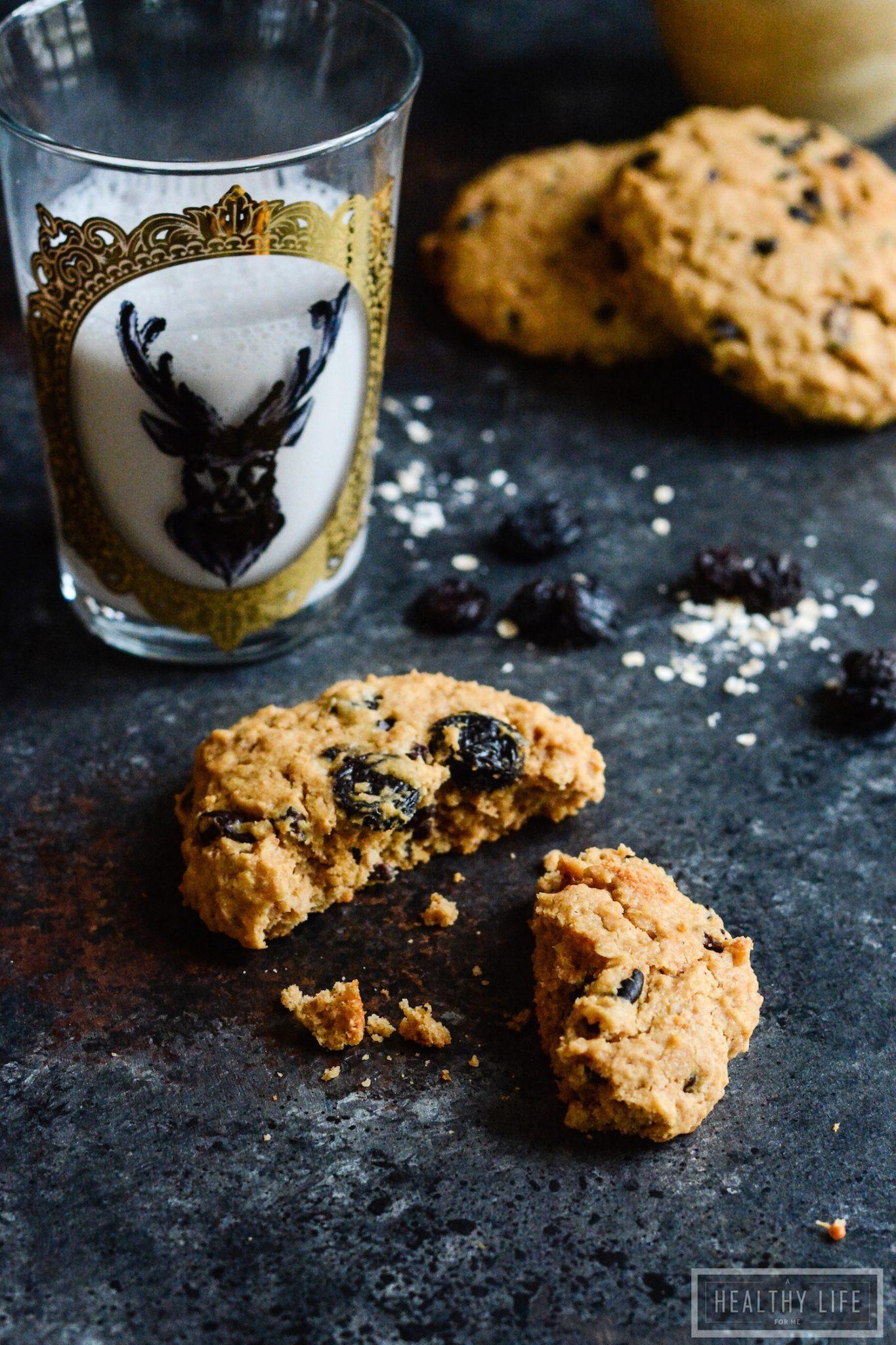 Superfood Peanut Butter Protein Breakfast Cookies